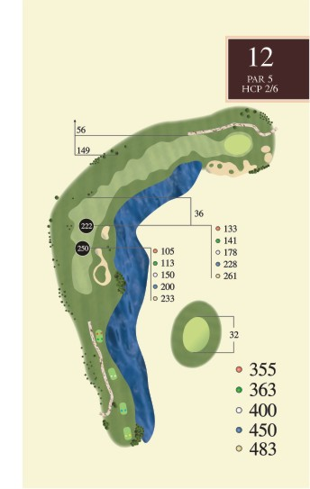 Hole 12 overview